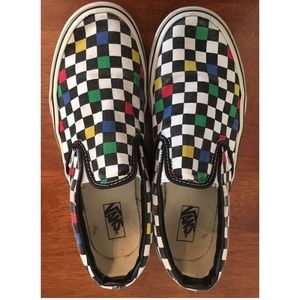 Vans Checkerboard Slip-on B/W + Colors